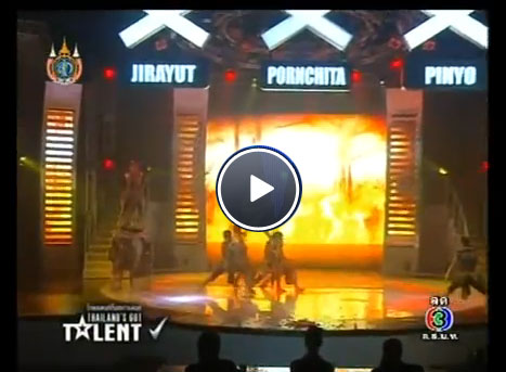 Lion Fighter TGT26 ไทยแลนด์ก็อตทาเลนต์ เข้ารอบ final Thailand's Got Talent Season 2